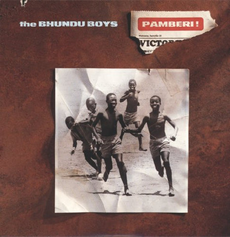 Bhundu Boys Pamberi LP 0016253985810 Worldwide Shipping