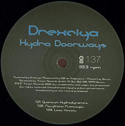 Drexciya Hydro Doorways [12 VINYL] LP 0718755613764