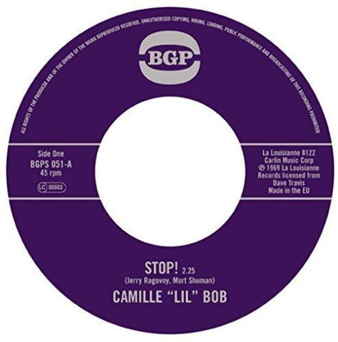 Camille Lil Bob Stop! / Brother Brown [7 VINYL] LP