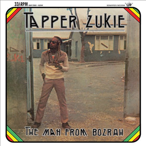 Tapper Zukie Man From Bozrah LP 5060135761509 Worldwide