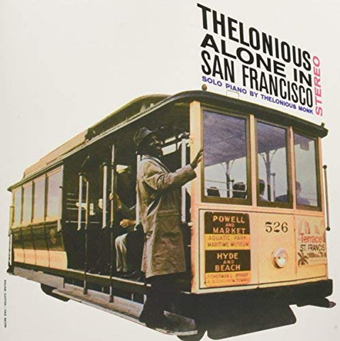 Thelonious Monk Monk Alone in San Francisco LP 0889397217457