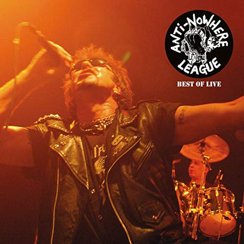 Anti Nowhere League Best Of Live LP 5036436118021 Worldwide