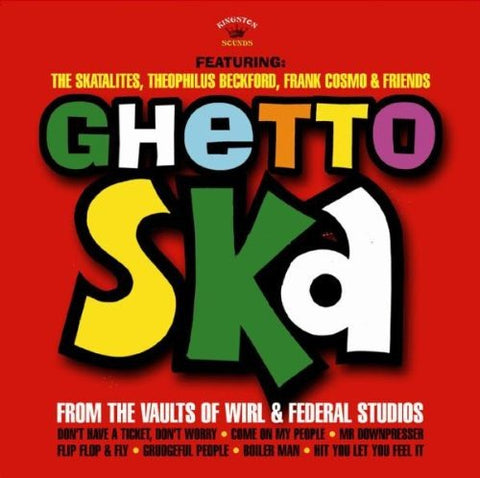 Various Artists Ghetto Ska LP 5060135760434 Worldwide