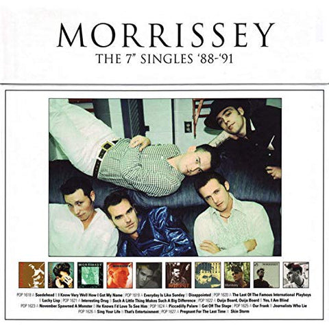 Morrissey The 7'' Singles '88-91' [7 VINYL] LP 5099952028472