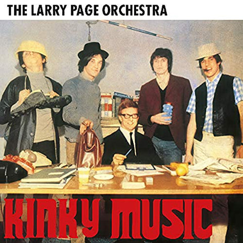 Larry Page Kinky Music LP 5060672880053 Worldwide Shipping
