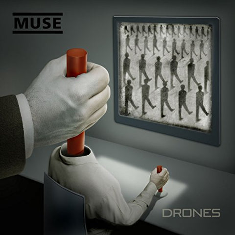Muse Drones 2LP 0825646121229 Worldwide Shipping