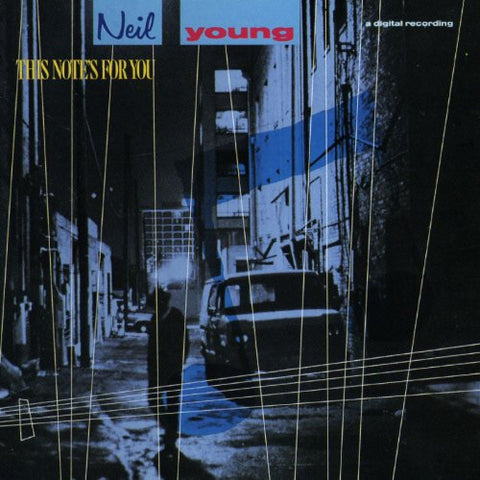 Neil Young This Note's For You LP 0075992571913 Worldwide