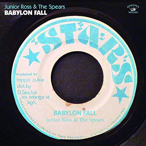 Junior Ross & The Spears Babylon Fall LP 5060135762612