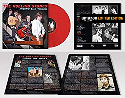 Rolling Stones Riding The Waves (Limited Edition Red Vinyl)
