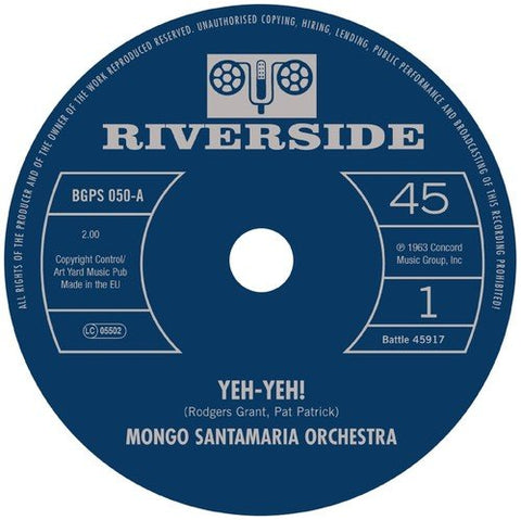 Mongo Santamaria Orchestra Yeh-Yeh! / Get The Money [7