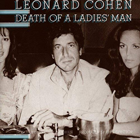 Leonard Cohen Death Of A Ladies' Man LP 0889854353810