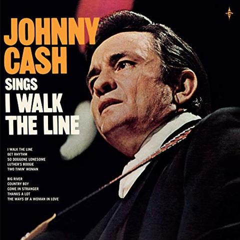 Johnny Cash I Walk The Line + 7 Inch Colored Single 2LP