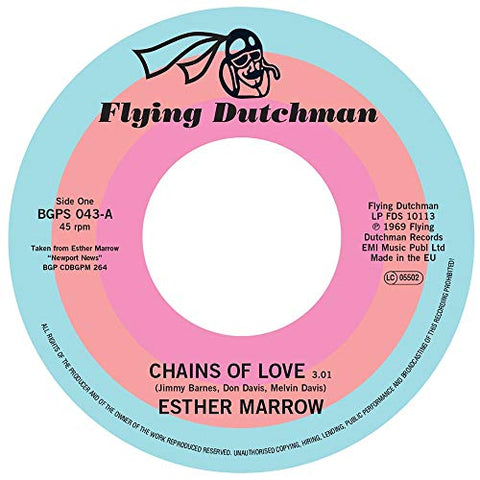 Esther Marrow Chains Of Love / Walk Tall LP 0029667014571