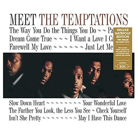 Temptations Meet The Temptations: Early Singles & B-Sides LP