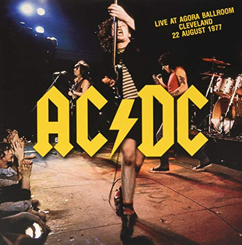 Ac/Dc Live at Agora Ballroom Cleveland August 1977 LP