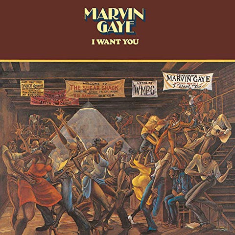Marvin Gaye I Want You LP 0600753534274 Worldwide Shipping