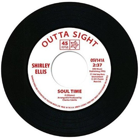 Shirley Ellis Lynne Randell Soul Time / Stranger In My Arms