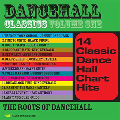 Various Dancehall Classics Volume One LP 5060135760113