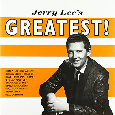 Jerry Lee Lewis JERRY LEE LEWIS - Jerry Lees Greatest (1 LP)