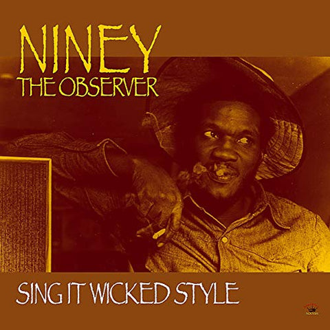 Niney The Observer Sing It Wicked Style LP 5060135761141