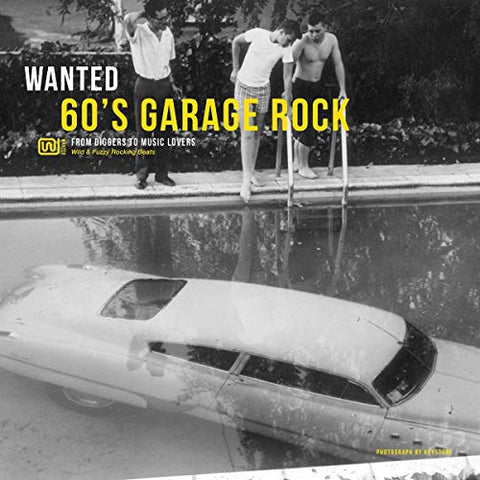 Various Artists WANTED 60'S GARAGE ROCK LP 3596973560667