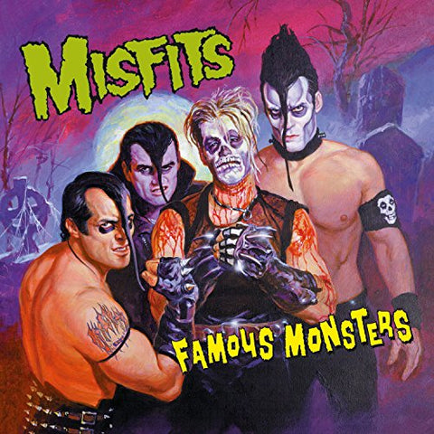 Misfits Famous Monsters [180 gm LP vinyl] LP 8719262008342