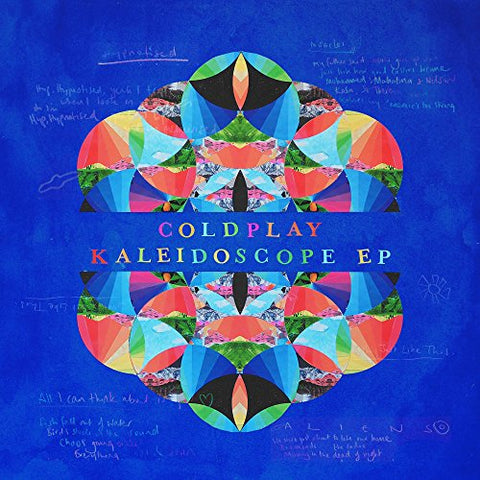 Coldplay Kaleidoscope EP [12 VINYL] LP 0190295825157
