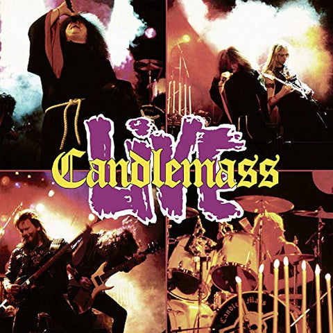Candlemass Live 2LP 0801056876812 Worldwide Shipping