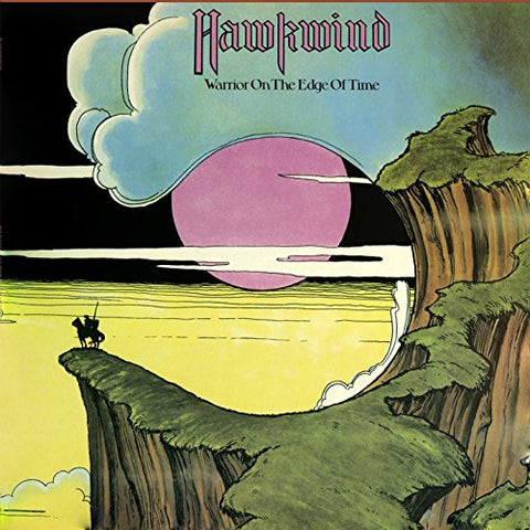 Hawkwind Warrior On The Edge Of Time LP 0803341460706