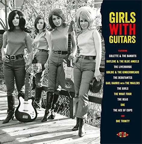 Various Artists Girls With Guitars LP 0029667002417