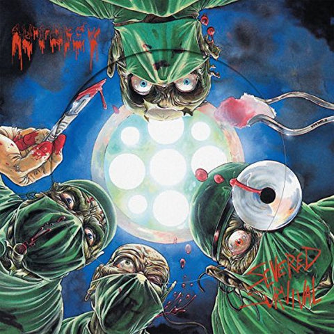 Autopsy Severed Survival (Pic Disc) LP 0801056863218