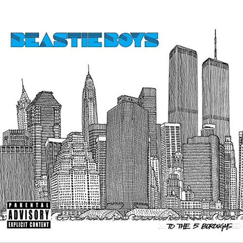 Beastie Boys To The 5 Boroughs 2LP 0602557727937 Worldwide