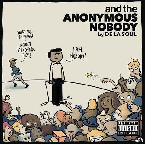 De La Soul And The Anonymous Nobody 2LP 5060454942450