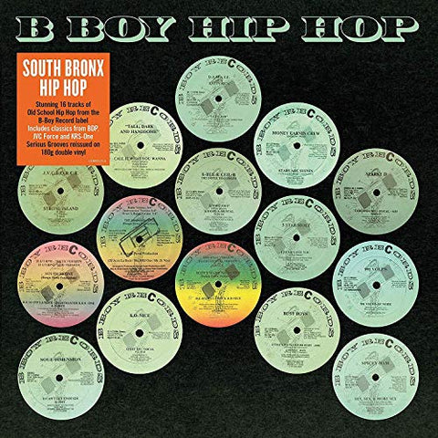 Various Artists B Boy Records Hip Hop 2LP 5014797900639