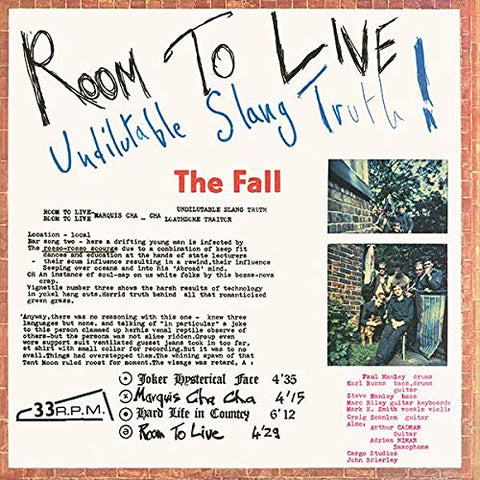 Fall Room To Live LP 0855985006161 Worldwide Shipping