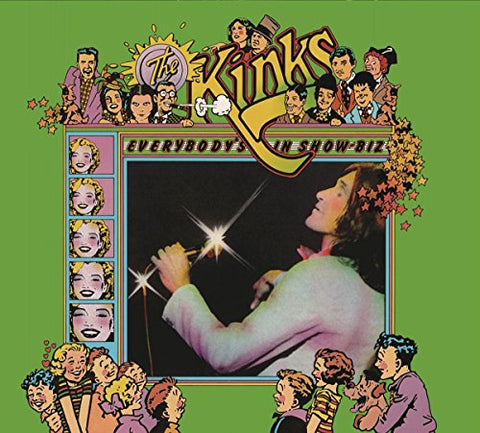 Kinks Everybody's In Show-Biz (Legacy Edition) 3LP