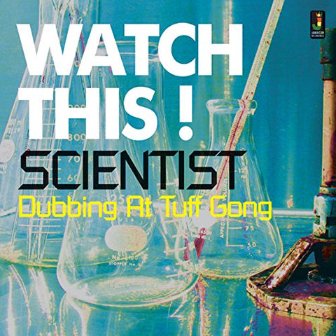 Scientist Watch This' Dubbing at Tuff Gong LP 5060135761929
