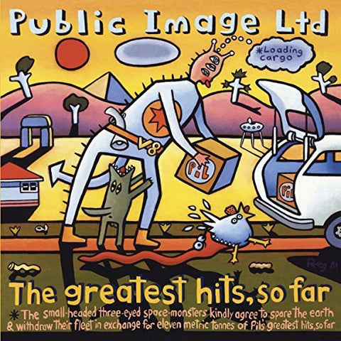 Public Image Limited The Greatest Hits… So Far LP