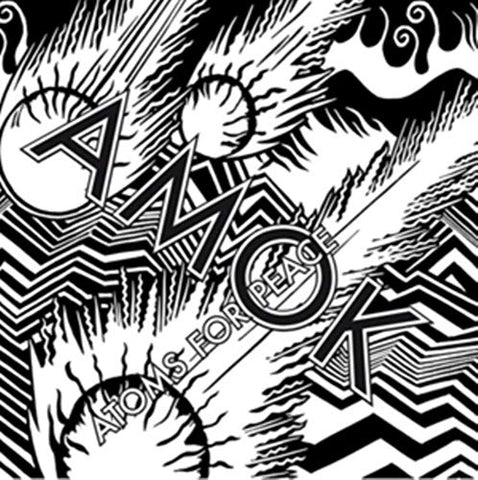 Atoms For Peace Amok 2LP 0634904158316 Worldwide Shipping