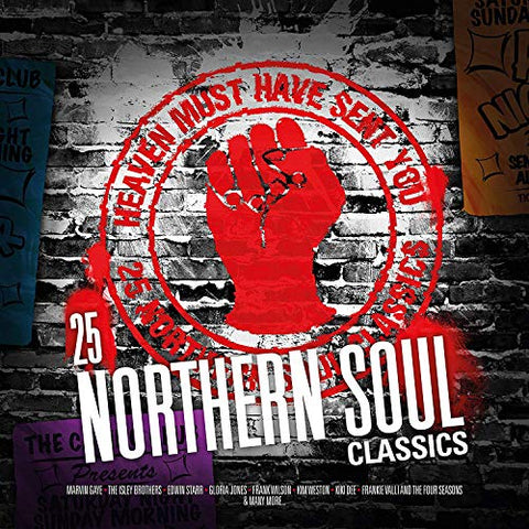 Various Artists Heaven Must Have Sent You – 25 Northern Soul