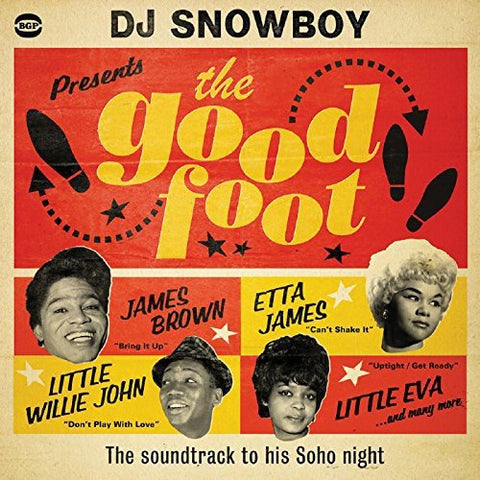 Various Artists DJ Snowboy Presents The Good Foot 2LP