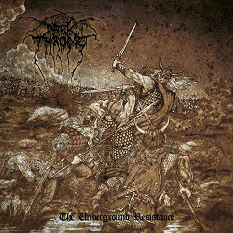 Darkthrone The Underground Resistance LP 0801056742513
