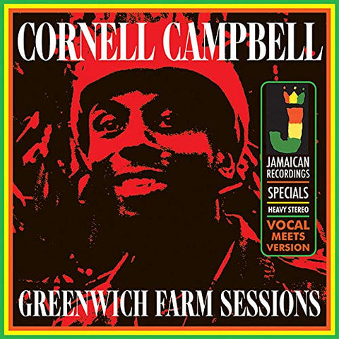 Cornell Campbell Greenwich Farm Sessions LP 5060135762322