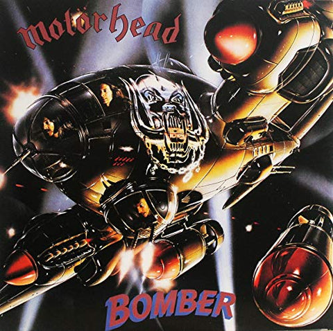 Motorhead Bomber LP 5414939641015 Worldwide Shipping