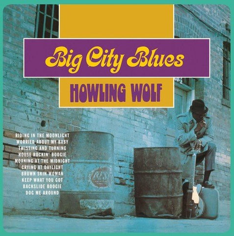Howlin Wolf Big City Blues LP 0889397514297 Worldwide