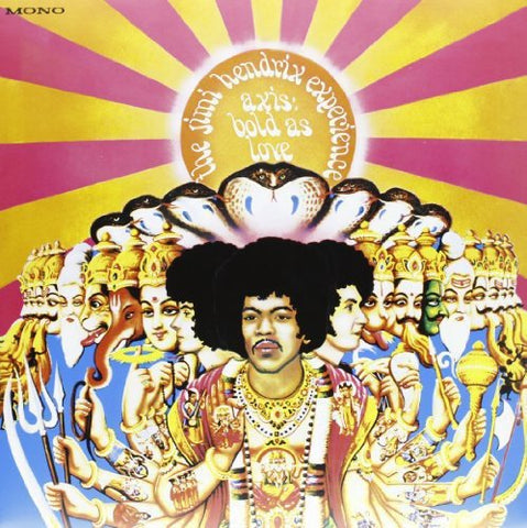 Jimi Hendrix Experience Axis Bold As Love (Mono) LP