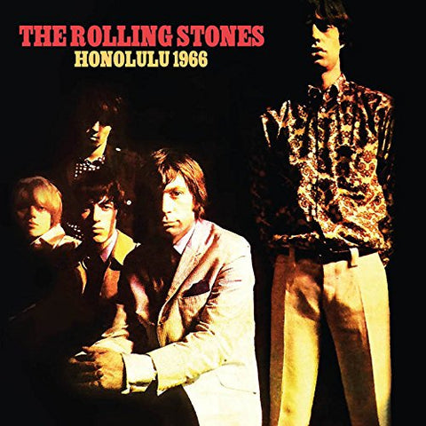 Rolling Stones Honolulu 1966 (VINYL Limited Edition) LP