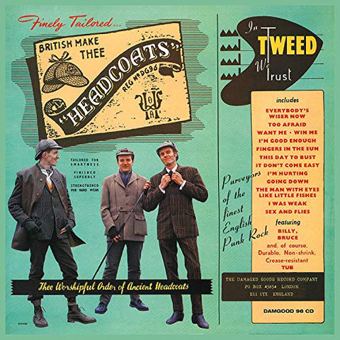 Thee Headcoats In Tweed We Trust LP 5020422009615 Worldwide