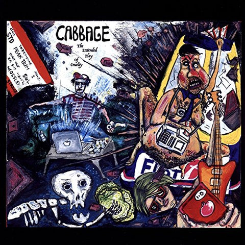 Cabbage The Extended Play of Cruelty [12 VINYL] LP