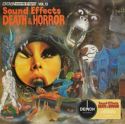 Various BBC Sound Effects: Death & Horror LP 5014797895157